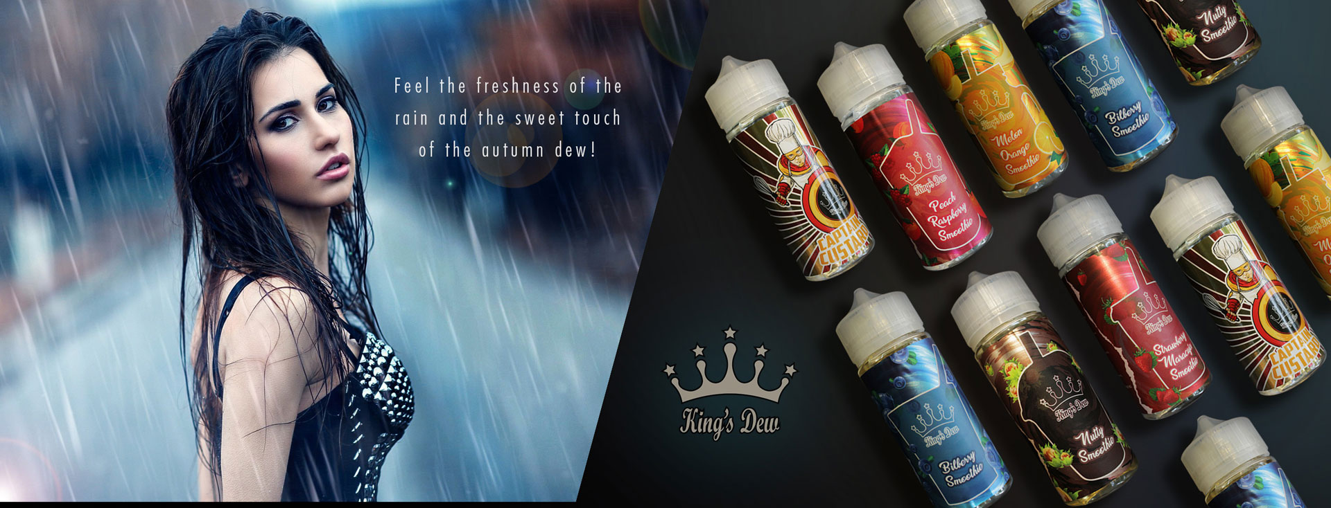 kings dew banner tigara electronica vaperia