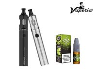 Kit Vaporesso Orca Solo Plus 1200mAh + Lichid QB Green Line 10ml